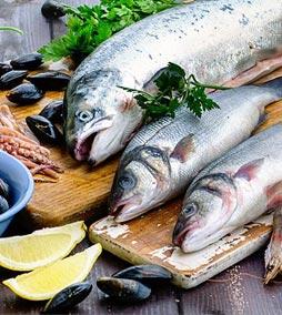 Традиционные морские рыбы (сельдь, скумбрия)